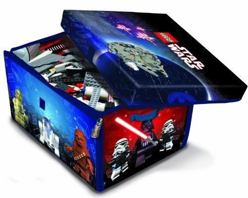 LEGO A1433X1 - Alfombra de Juegos y Caja de almacenaje 2 en 1 con diseño Star Wars