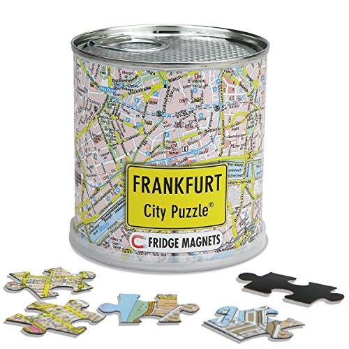 Extragoods City Puzzle Magnets Frankfurt am Main