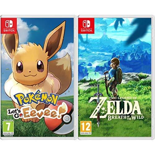 Pokémon: Let's Go, Eevee! & The Legend Of Zelda: Breath Of The Wild