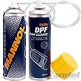 Mannol DPF - Limpiador de filtro de partículas diésel con sonda (2 unidades, 500 ml)