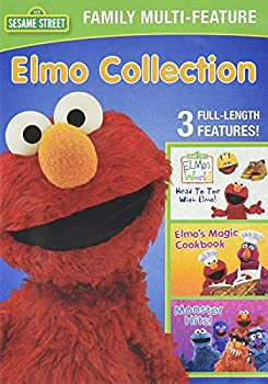 Sesame Street Family Multi-Feature  Elmo Collection  Head to Toe with Elmo! / Elmo s Magic Cookbook / Monster Hits!  [DVD]