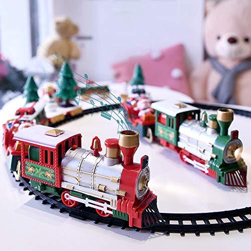 Juego de Trenes navideños clásicos, Tren de Juguete para n