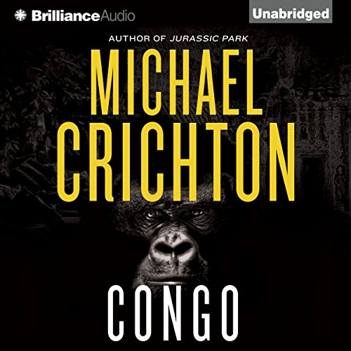 Congo audiobook cover art