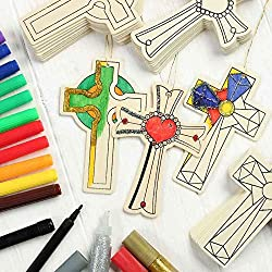 Decorate Your Own Cross Ornament Crafting Kit