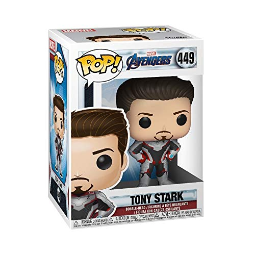 Funko 36660 POP Bobble: Avengers Endgame: Tony Stark Collectible Figure, Multicolour