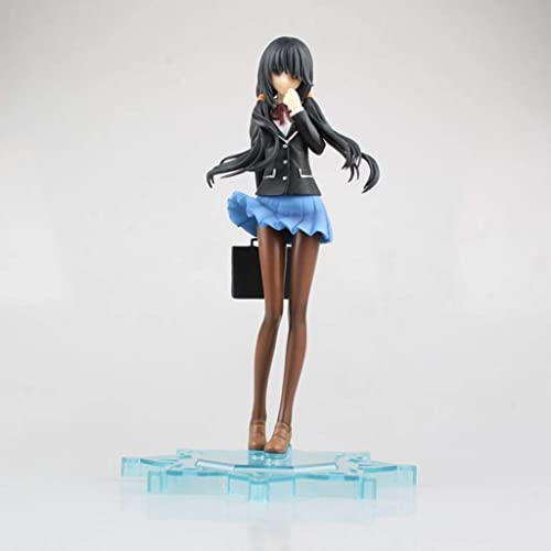 Anime-Teenager-mädchen-Modell Character Sculpture Gift-vorzügliche Plastikdekoration JSFQ