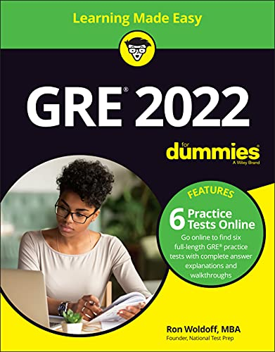 GRE 2022 For Dummies with Online Practice (GRE for Dummies)