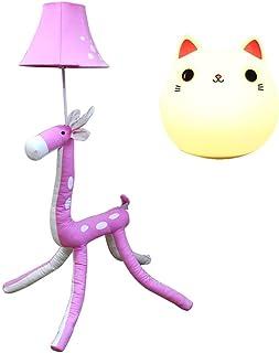 HEZHANG Lampe de Plancher Rose Chaude Lampe de Table Lampe de Plancher Lampe de Plancher Cadeau Créatif Salon Chambre À Co...