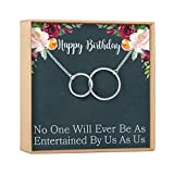 GIFT READY BOX, CONVENIENTLY PACKAGED: This Birthday gift box comes with a thoughtfully written message, a soft black velvet bag, and a blank note card enclosed in matching envelopes for a personal touch. SATISFACTION GUARANTEED: We know how importan...
