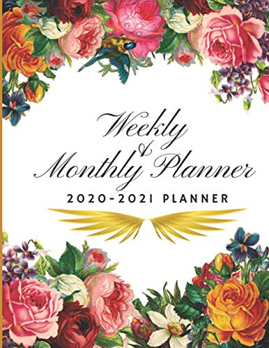 Compare Textbook Prices for Weekly & Monthly Planner 2020-2021: Vintage Flowers for Training meeting Day for Women Business Academics Teachers Students, Weekly & Monthly ... with holiday Scheduling Secretarial Aids  ISBN 9798562702005 by Planner, Golden