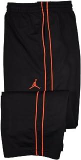 Jordan 大男孩运动训练裤-黑色/柠檬黄 XL 码