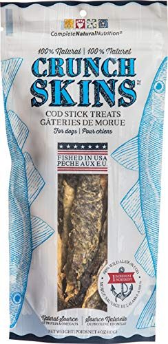 Presidio Natural Pet Company Crunch Skins Twisted Cod Sticks, 4 Oz
