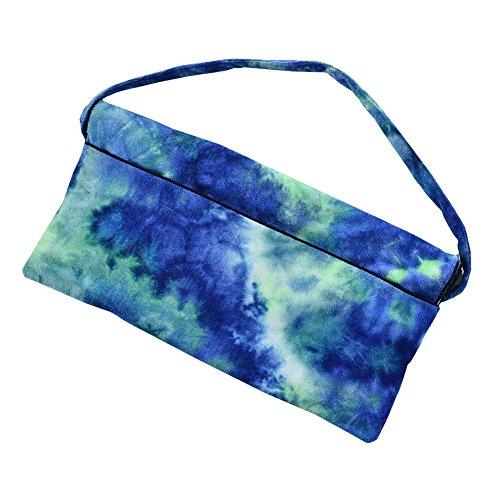 KJUHVBF - Toalla de Microfibra para la Playa, con impresión de Gran tamaño, con Correa de Mano para una fácil absorción de Agua para Nadar en la Playa, Azul, Large 100.00watts