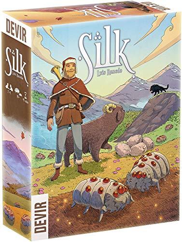 Devir - Silk, Juego de Tablero (BGSILK)