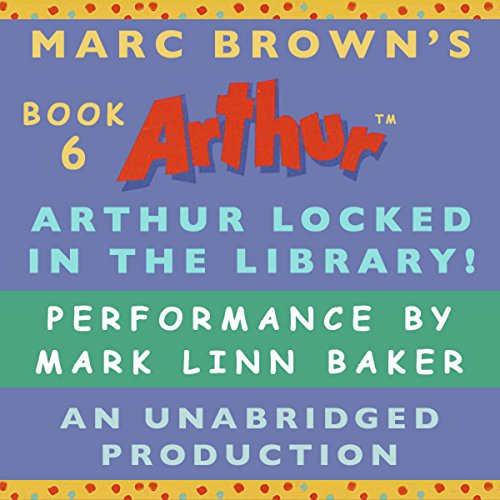 Arthur Locked in the Library audiobook cover art