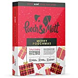 Pooch & Mutt - Christmas Advent Calendar for Dogs - 100% Natural with Calming Ingredients & Low in Calories - 1 x Christmas Calendar