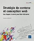 Stratégie de contenu et conception web - Les étapes à suivre pour faire la différence