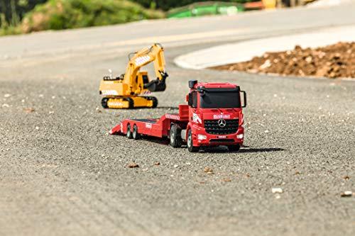 RC Auto kaufen Baufahrzeug Bild 2: Carson 500907307 1:20 MB Arocs Goldhofer Spiel*
