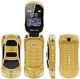 JJA BROS F15 Mini Tiny Deportivo Estilo Flip Cámara Teléfono Móvil Desbloqueado Dual SIM Tarjetas MP3/MP4 2G