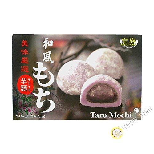 Mochi Dulce Japonés Sabor Taro - Royal Family 6 Piezas (210g.)