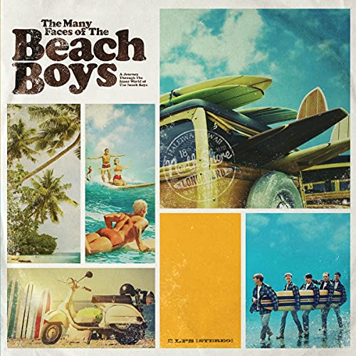 Many Faces Of The Beach Boys / Various (Ltd 180gm Gatefold Blue &Yellow...