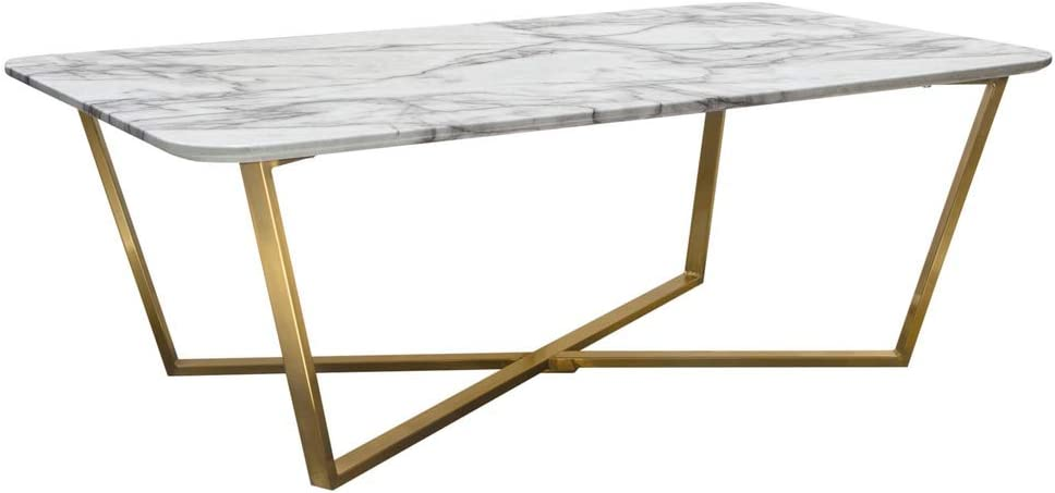 Diamond Sofa Cocktail Table White Popular products Credence and Gray in