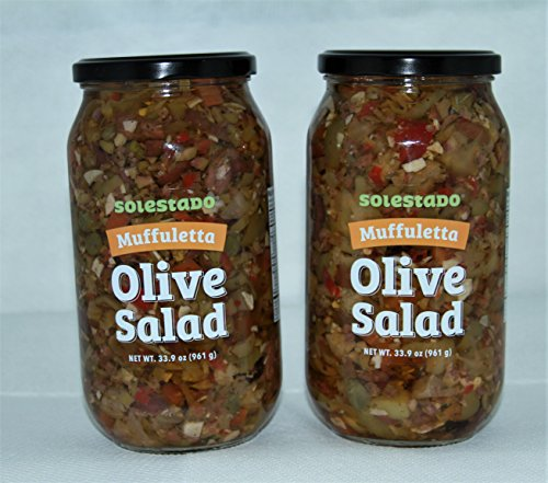 Muffuleta Olive Salad 33.9 oz. Double Pack