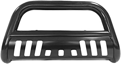 Bull Bar Compatible With 2002-2005 Dodge Ram 2003-2009 Ram 2500 3500 | Front Bumper Brush Grille Guard by IKON MOTORSPORTS | 2003 2004