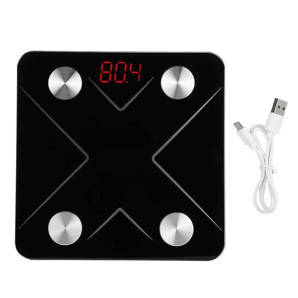 Redxiao Báscula electrónica, báscula con Carga USB, Sensor de Alta precisión para el hogar