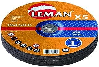 Leman 353.28.25 1 disque tronconnage metal 350x3.0x25.4 mp Bleu