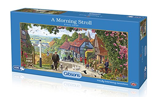 Gibsons G4044 A Morning Stroll Puzzle (636 Teile)