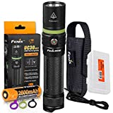 Fenix UC30 New Edition 1000 Lumens USB Rechargeable LED Flashlight with Charging Cable, Organizer
