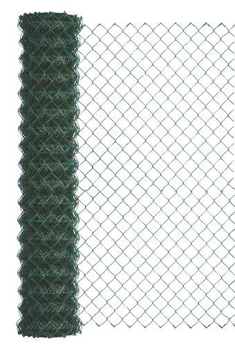 GAH-Alberts 604714 Maschendraht-Geflecht | verschiedene Längen und Höhen - wahlweise in verschiedenen Farben | grün | Höhe 100 cm | Länge 15 m