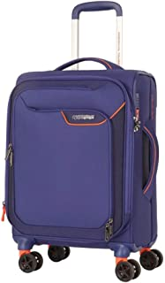 American Tourister - Applite 4.0 55cm Small 4 Wheel Soft Suitcase - Blue