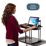Desktop standing desk stand.