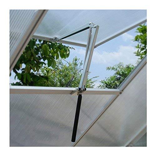 zerone - Apertura automática de ventanas para invernadero, cobertizo, jardín, elevador de ventana, automático, ventilación solar sensible al calor, techo abierto, ventana, carga máxima 7 kg