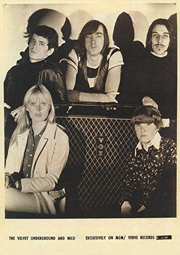 Velvet Underground/B/W Group W/Nico Poster Drucken (60,96 x 91,44 cm)