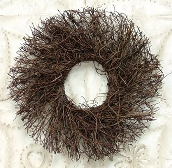 Natural Angelvine Twig Wreath Country Primitive Craft Floral D Cor