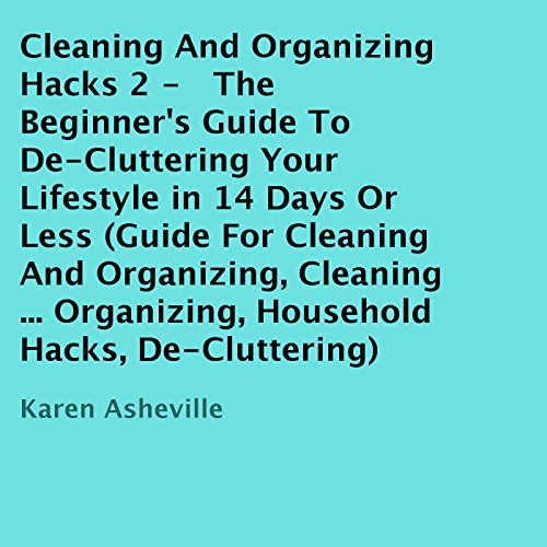 Cleaning and Organizing Hacks 2 audiobook cover art
