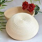 Brot-Proofing-Körbe, ovaler natürlicher Rattan-Brot-Fermentations-Korb-natürlicher Rattan - 2