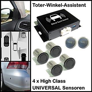 CellNet ® Toter Winkel Assistent/Spurwechsel Assistent mit 4 x Universal High Class Sensoren