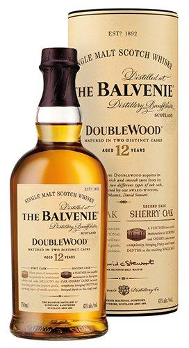 2x Balvenie - DoubleWood Single Malt Scotch Whisky 12 Years, Schottland - 700ml