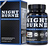 NIGHT BURN 2 für die Nacht, Night Burn® - das geschützte original Markenprodukt mit der Erfolgs-Formel aus den USA, Made in Germany nach ISO und HACCP, 60 pflanzliche Kapseln
