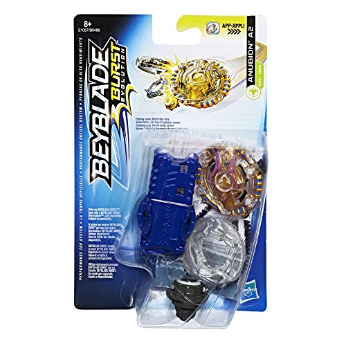 Hasbro Beyblade Burst E1057ES0 Beyblade Burst Starter Pack Anubion A2, Kreisel