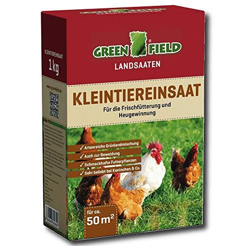 Greenfield 63800 Kleintiereinsaat 1 kg pour Env. 50 Qm
