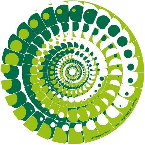 Zomo Moon green (Twin pack) Slipmat
