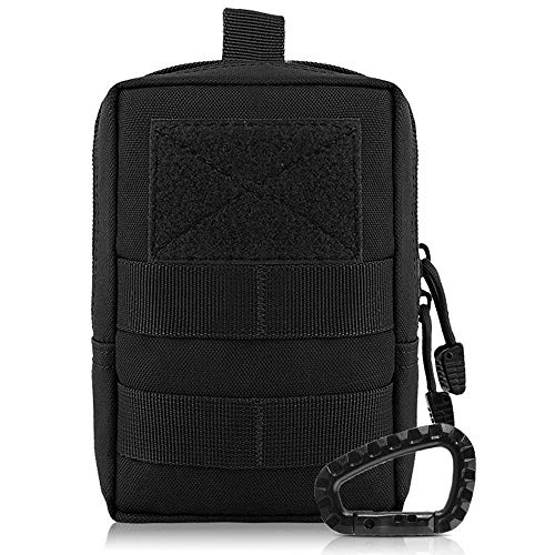 Erste-Hilfe-Umhängetasche aus 1000D-Nylon für den Militär von Airsson, schwarz