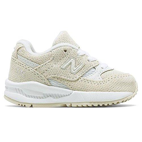 Nieuwe evenwicht 530 KL530TWI Sneaker Baby Kinderen Schoenen Beige/Wit
