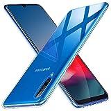 Coque pour Samsung A70, Anfire Housse Etui Liquid Crystal Ultra Mince Coque Transparente Silicone...