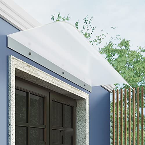 Toldo de ventana para puerta delantera, toldo para patio, cubierta de techo, 40 x 90 cm, 40 x 47 cm